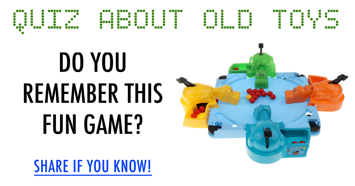 Quiz about the old and fun toys