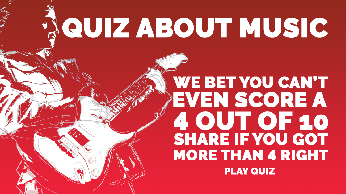 Can you even score a 4 out of 10 in this Music quiz?