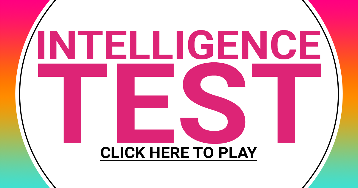 Hard Intelligence Test