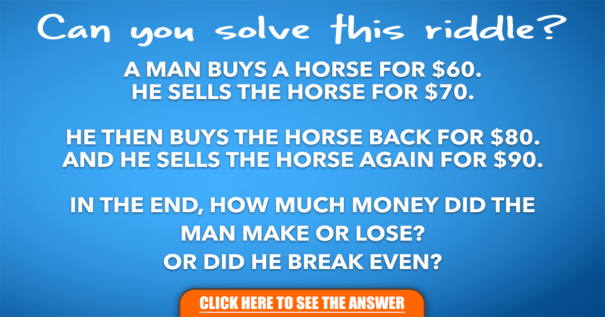 Can you solve this riddle?