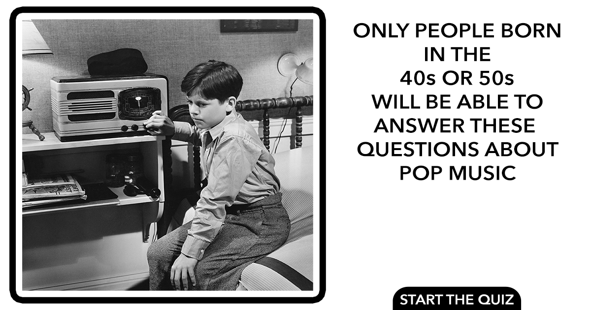 Are you old enough to answer these questions correctly?