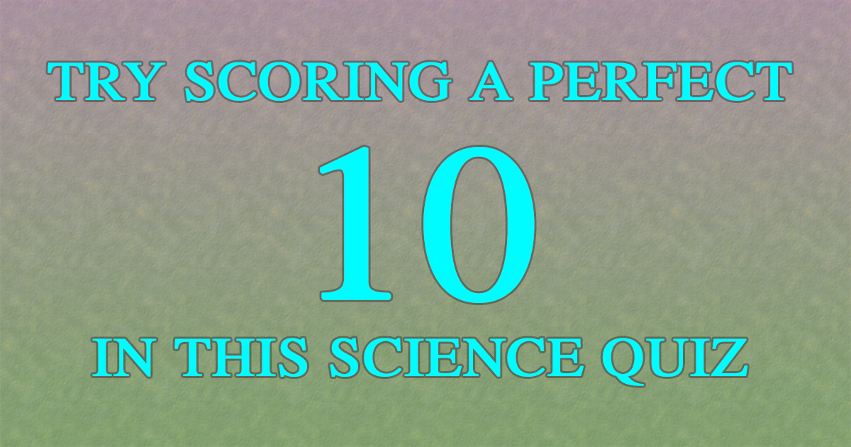 Try scoring a 10