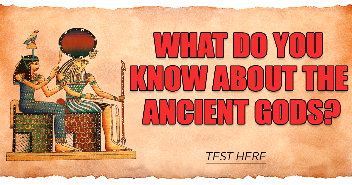 History Quiz About Ancient Gods