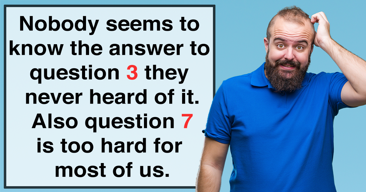 Can you answer all 10 questions correctly? Tell us if you did!