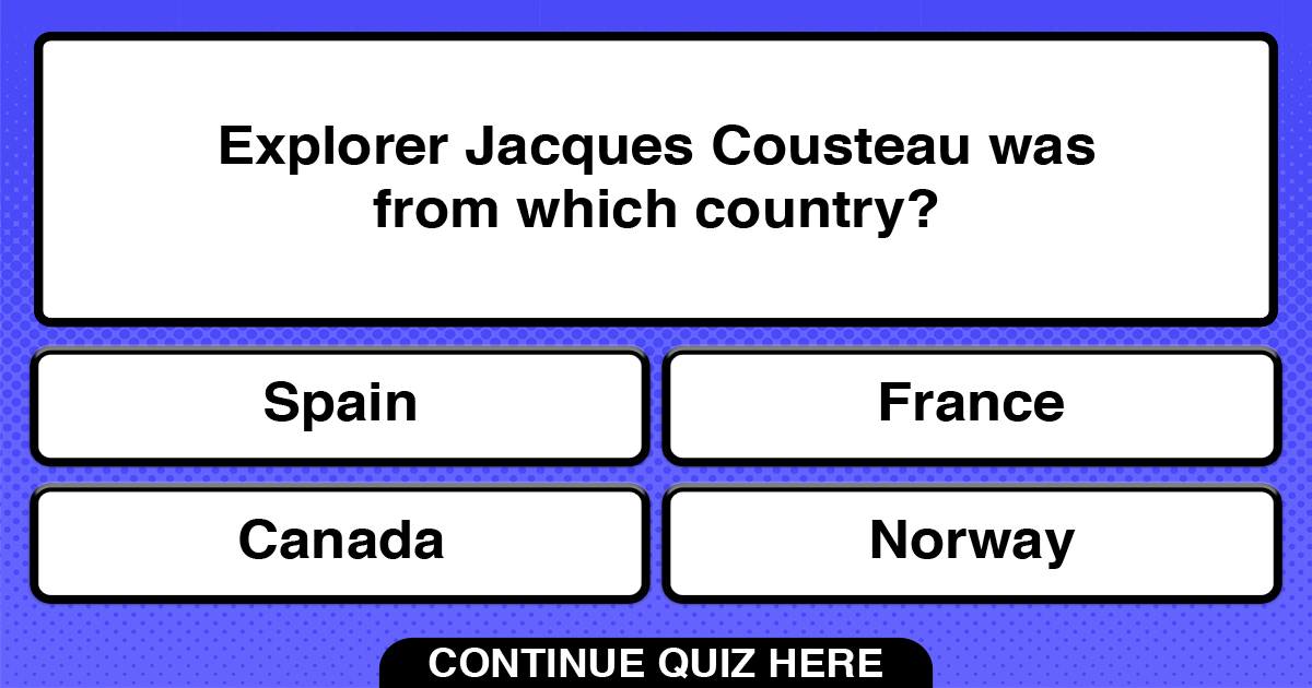 Play this quiz to see the correct answer