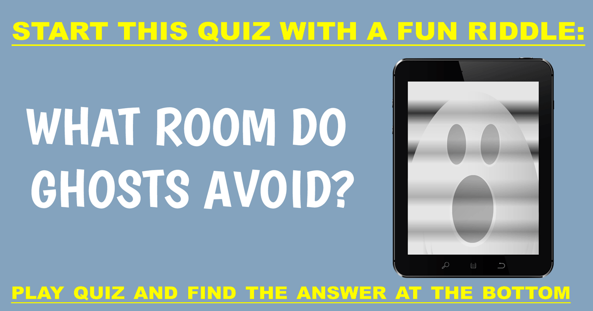 You will find the answer at the bottom of this quiz!