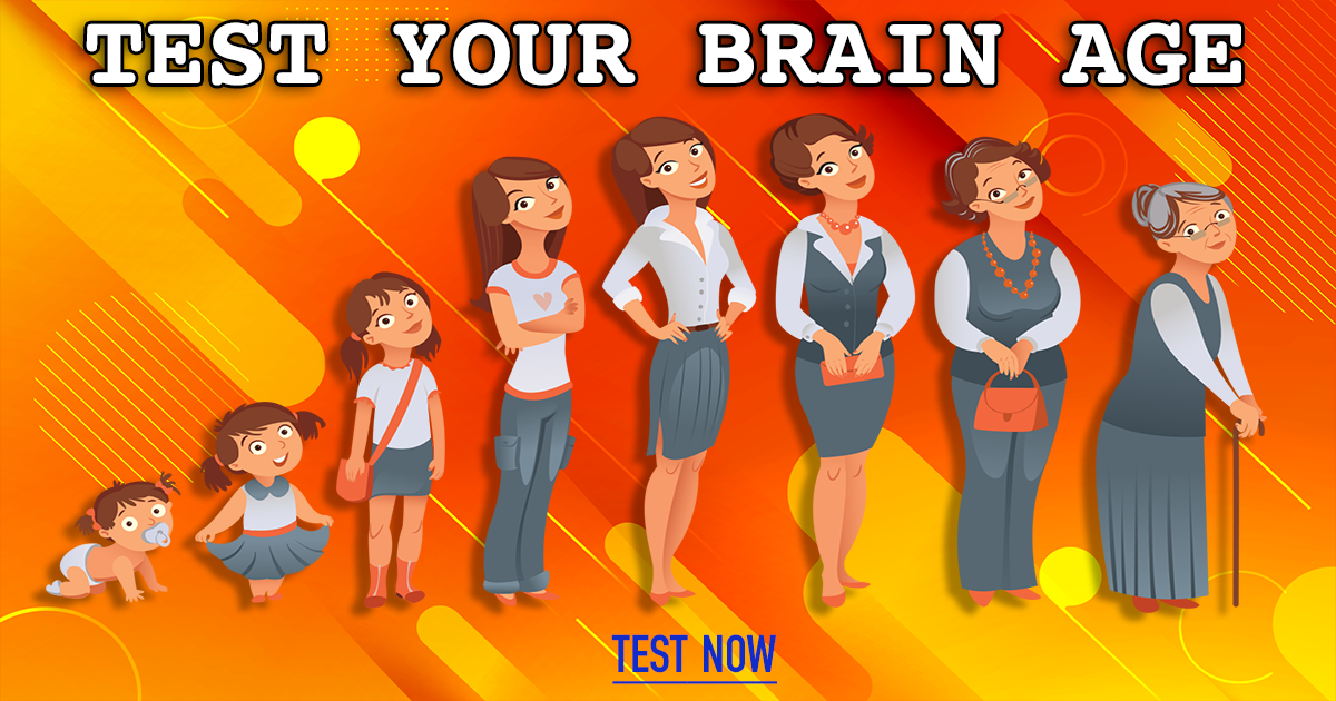 What is your brain age? Test here!