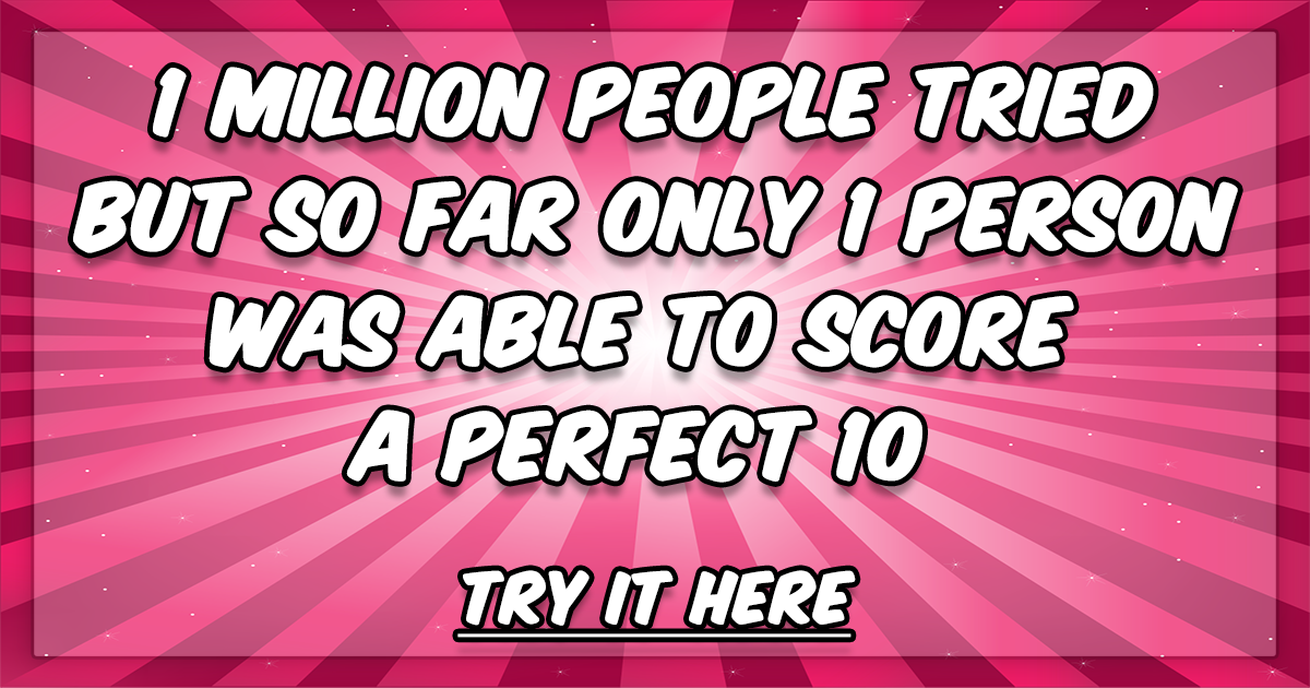 Are you going to be the second person? Find out now!