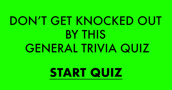 Almost nobody is able to ace this quiz