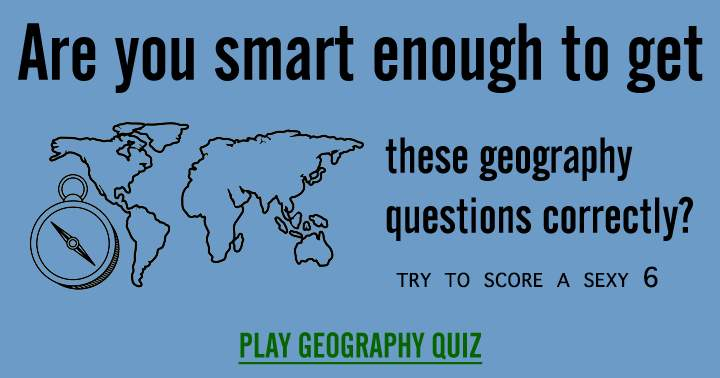 So, are you smart enough?